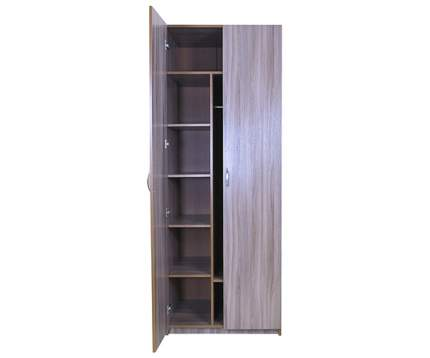 Шкаф для одежды Шарм-Дизайн Комби Уют 80х60 Ясень шимо темный
