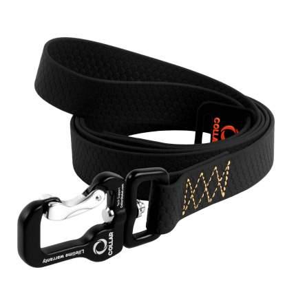 Поводок для собак Collar EVOLUTOR, черный, 25мм х 3м