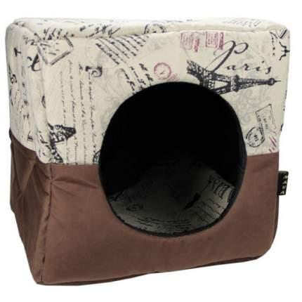 Домик для кошек и собак MAVA Куб большой, разноцветный, 40x40x40см