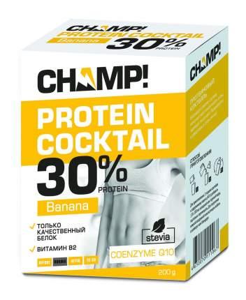 Коктейль протеиновый Champ банановый 5 пакетов по 40 г