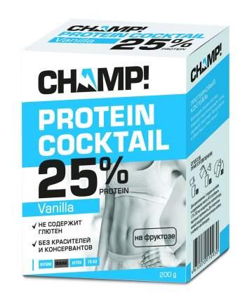 Коктейль Champ протеиновый ванильный 5 пакетов по 40 г