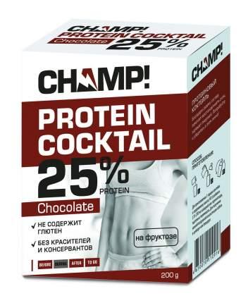 Коктейль Champ протеиновый шоколадный 5 пакетов по 40 г