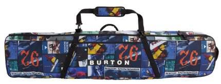 Чехол Для Сноуборда Burton 2020-21 Wheelie Locker Black Mansfield Topo (См:166), 2020-21