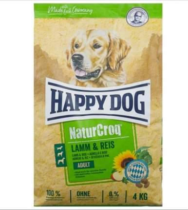 Сухой корм для собак Happy Dog NatureCroq Adult, ягненок, рис, 15кг