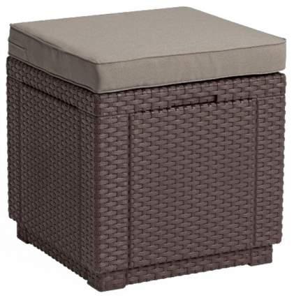 Curver Пуфик Куб с подушкой (Cube with cushion)