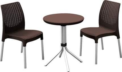 Набор садовой мебели Keter Chelsea set 17199261/КОР brown 3 предмета