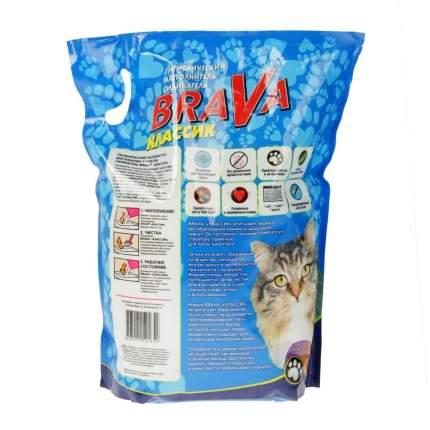 Наполнитель Brava впитывающий 7.6 л 3.6 кг силикагелевый