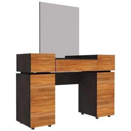 Туалетный столик Глазов мебель 149х122,2х40,1 см, коричневый