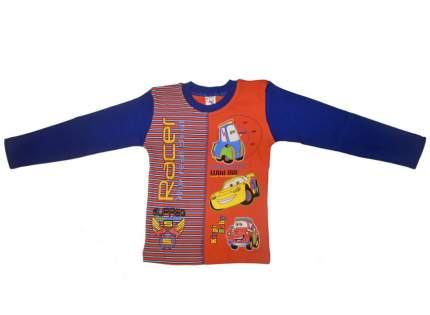 Джемпер для мальчика Kirpi Baby цв.оранжевый, темно-синий рост 122 см