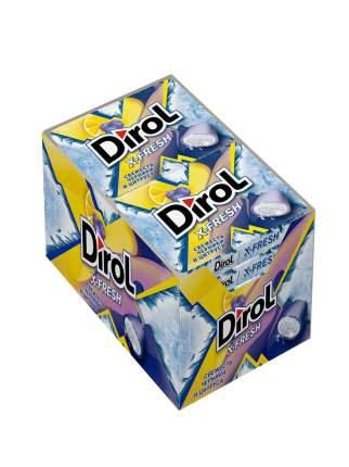 Жевательная резинка Dirol X-Fresh свежесть черники и цитруса без сахара 12 пачек по 16 г