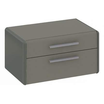 Тумба прикроватная приставная Трия Наоми ТД-208.03.01 63,4x40,2x35,2 см, джут/серый