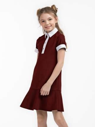Платье для девочек SMENA цв.бордовый 10696 р.146/72