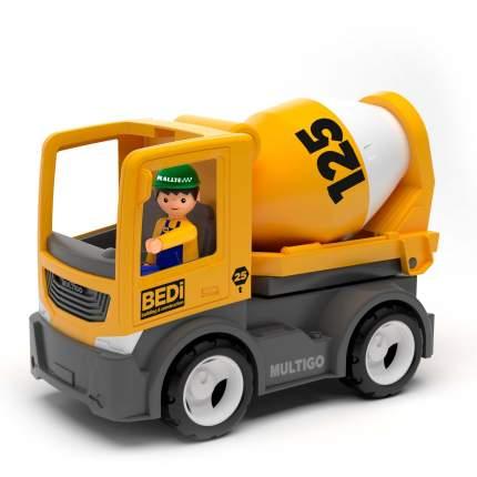 Efko Строительный грузовик-бетономешалка с водителем, 22 см