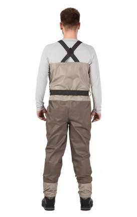 Вейдерсы FHM Jog 000026-0020, коричневые/бежевые, 48-50 RU, ступня 43 RU