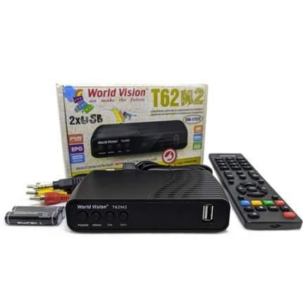 DVB-T2 приставка World Vision T62M2/32678 Black