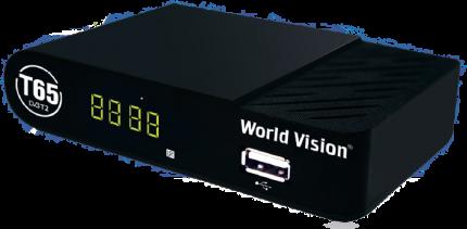DVB-T2 приставка World Vision T65 Black