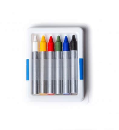 Аквагрим ФТКОСМЕТИК 020101 карандаши классики 6 цв.