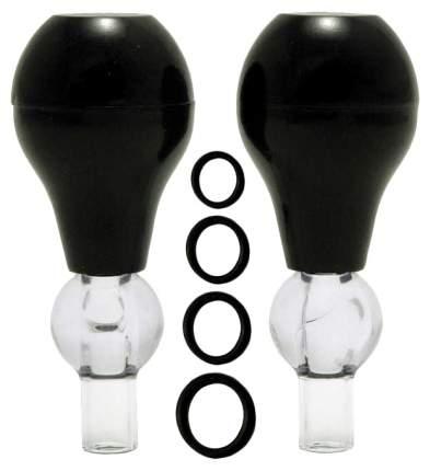 Набор для стимуляции груди Nipple Pump 10 Pieces: 2 помпы и 8 колечек