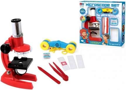 Микроскоп с аксессуарами Junfa toys 8 предметов