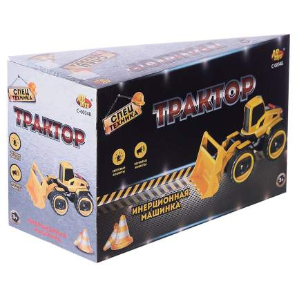Машинка инерционная ABtoys Трактор, со световыми и звуковыми эффектами