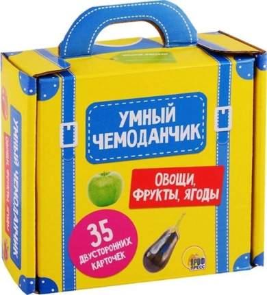 Равивающая игра Проф-Пресс Умный чемоданчик. Овощи, фрукты, ягоды, 136380-TN