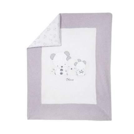 Плед для коляски Chicco с отстег. чехлом для мальчиков и девочек, размер 99, цвет белый