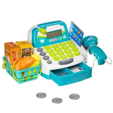 Игровой набор Bondibon Играем в магазин, с кассовым аппаратом и аксессуарами, 17 предметов