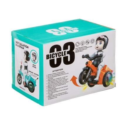 Мотоциклист электронный: движение, свет, звук арт LD-151A Б98215
