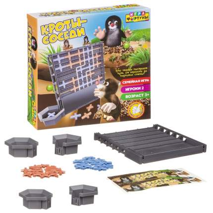 Настольная семейная игра Фортуна Кроты-соседи