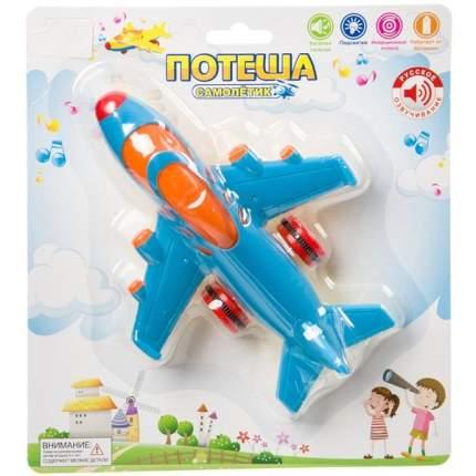 Самолет инерционный Zhorya Потеша со световыми и звуковыми эффектами, в ассортименте
