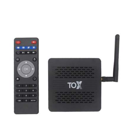 Smart-TV приставка TOX1 Amlogic S905x3