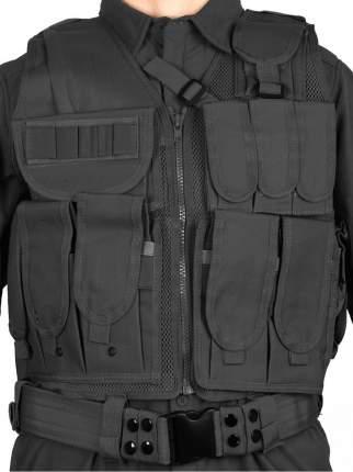 Тактический разгрузочный жилет Unloading Combat Vest T-045, цвет Черный (Black)