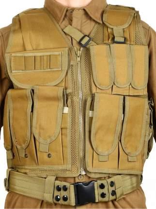 Тактический разгрузочный жилет Unloading Combat Vest T-045, цвет Койот (Coyote)