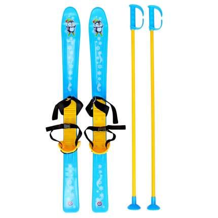 Беговые лыжи R-Toys Т3350, синие, 77 см