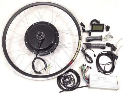 Набор для электрификации велосипеда.Комплет+АКБ: 1000W 48V/11,6Ah Прямой Передний LCD