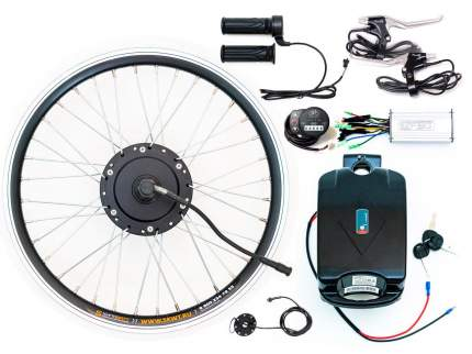 "Набор для электрификации велосипеда АКБ: 350W 36V/10Ah Редуктор Передний 27,5"" LED"