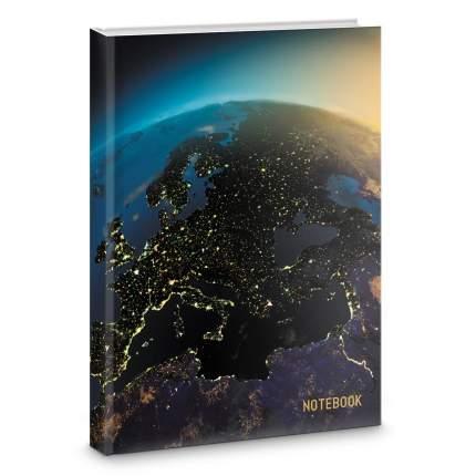 Книга для записей Listoff Вид из космоса А4 200л КЗФ42003347