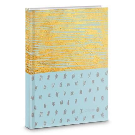 Книга для записей Listoff Золотые штрихи А5 80л ЕТИ580294