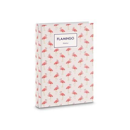 Книга для записей Listoff Фламинго А6 64л КЗБ6643319