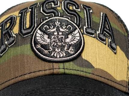Бейсболка Atributika&Club Россия 101570 черная