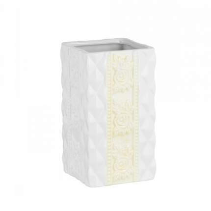 Стакан для зубных щеток настольный керамика, Diamond
