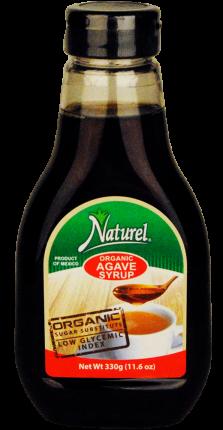 Органический сироп агавы темный Naturel 330мл