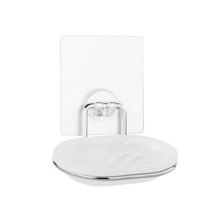 """Мыльница для ванной настенная на силиконовом креплении пластиковая """"Kleber Lite"""""""