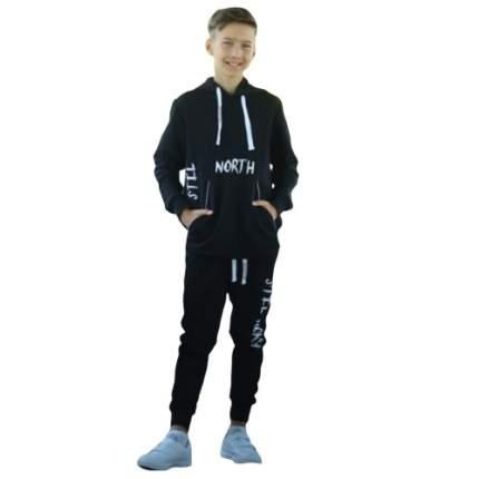 Костюм спортивный для подростка North, черный р.140
