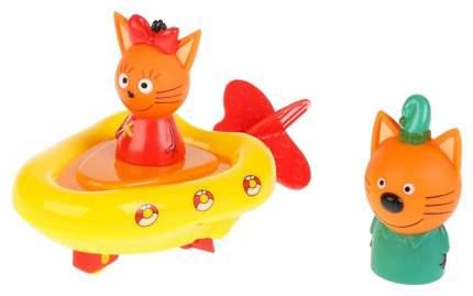 """Игрушка для купания """"Три кота, Лодка+ Компот +Карамелька"""" 7 см, 5 см STB3-2TC Тошка"""