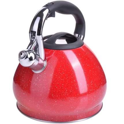 Чайник MAYER & BOCH, 3,4 л, со свистком, красный
