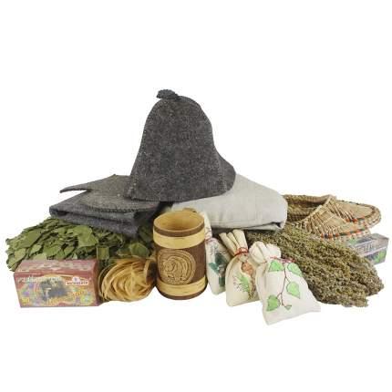 Подарочный набор для бани Традиционный Minba пн009