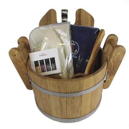 Подарочный набор аксессуаров для бани Серьёзный Minba пн016