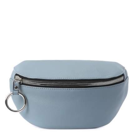 Поясная сумка женская Calzetti ADELE BELT BAG серо-голубая