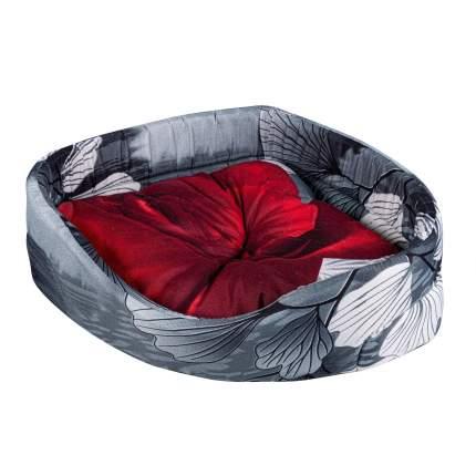 Лежак для собак и кошек Xody Угловой Эконом №0, цвета в ассортименте, 35х35х14 см